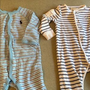 Ralph Lauren One Pieces - ❗️1HR SALE❗️Ralph Lauren baby sleeper jumpsuit